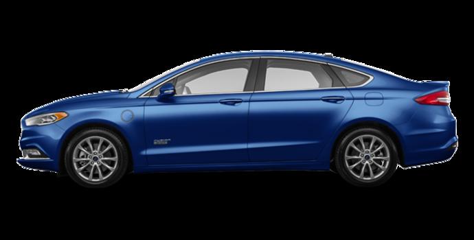 2017 Ford Fusion Energi TITANIUM | Photo 4 | Lightning Blue
