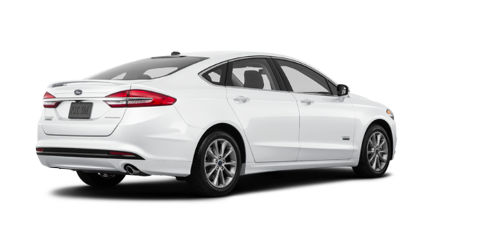 2017 Ford Fusion Energi TITANIUM | Photo 5 | White Platinum