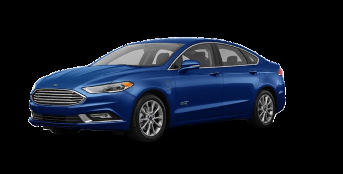 2017 Ford Fusion Energi TITANIUM | Photo 6 | Lightning Blue