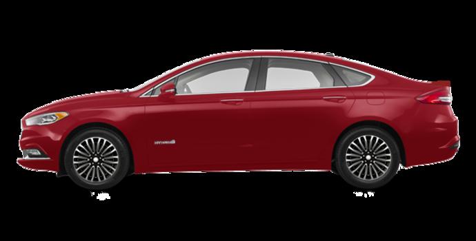 2017 Ford Fusion Hybrid TITANIUM | Photo 4 | Ruby Red