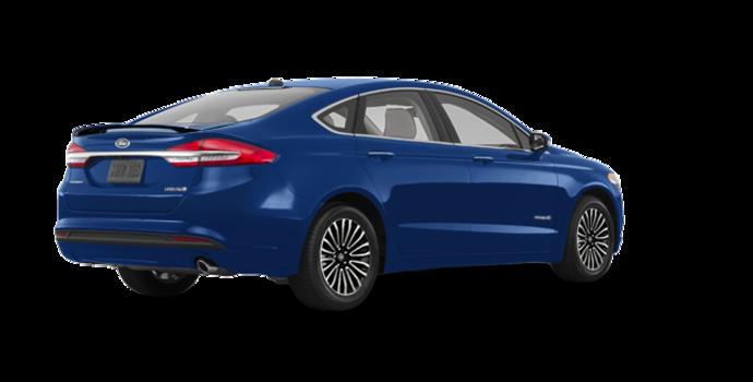 2017 Ford Fusion Hybrid TITANIUM | Photo 5 | Lightning Blue