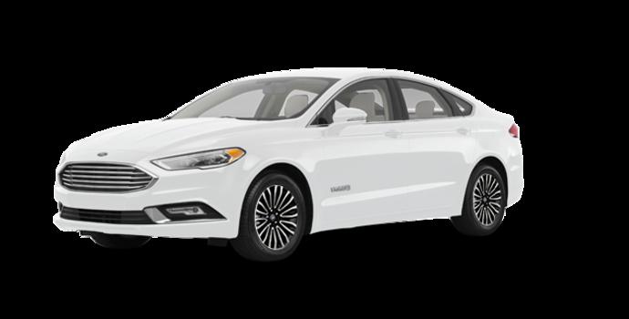 2017 Ford Fusion Hybrid TITANIUM | Photo 6 | Oxford White