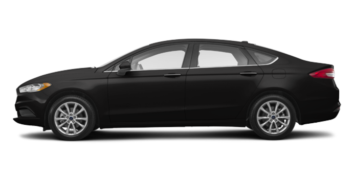 2017 Ford Fusion S   Photo 4   Shadow Blakc