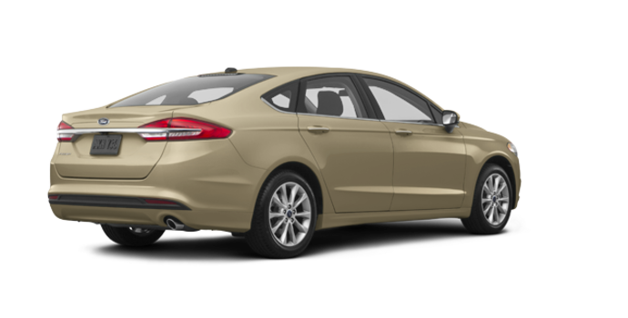 2017 Ford Fusion S   Photo 5   White Gold