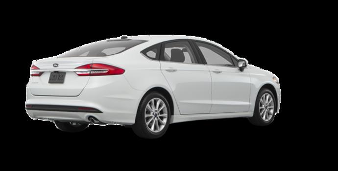2017 Ford Fusion S | Photo 5 | Oxford White