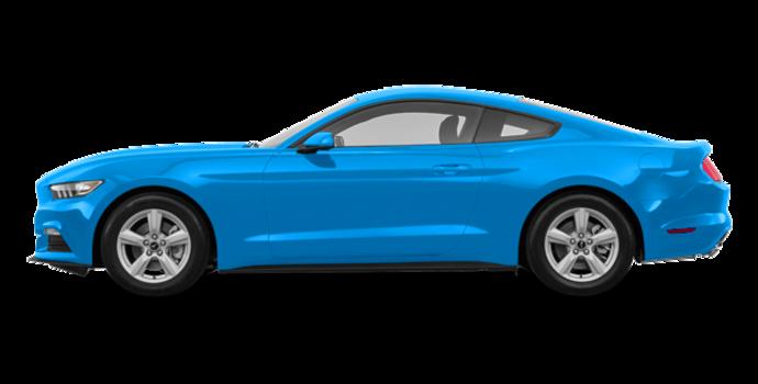 2017 Ford Mustang V6   Photo 4   Grabber Blue