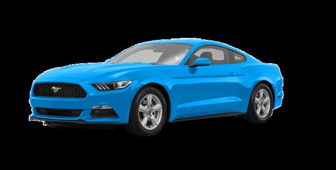 2017 Ford Mustang V6   Photo 6   Grabber Blue