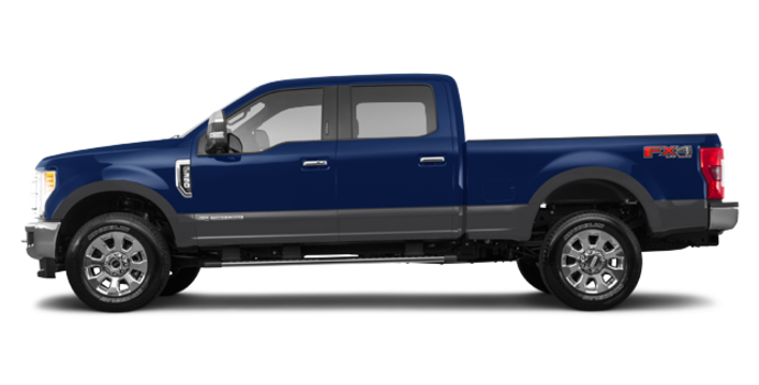 2017 Ford Super Duty F-350 LARIAT | Photo 4 | Blue Jeans Metallic/Magnetic
