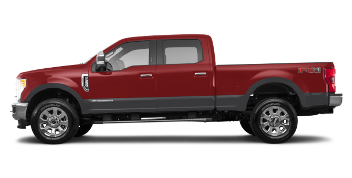 2017 Ford Super Duty F-350 LARIAT | Photo 4 | Ruby Red/Magnetic