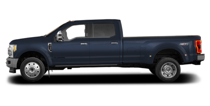 2017 Ford Super Duty F-450 KING RANCH | Photo 4 | Blue Jeans Metallic