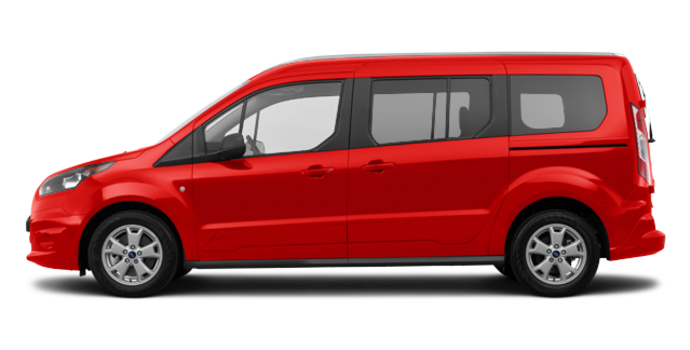 2017 Ford Transit Connect XLT WAGON | Photo 4 | Race Red