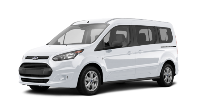 2017 Ford Transit Connect XLT WAGON | Photo 6 | Frozen White