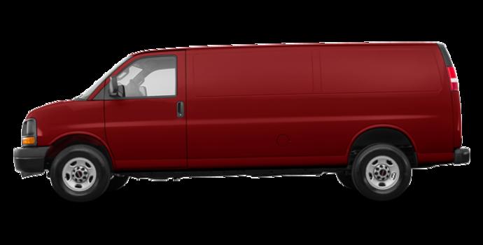 2017 GMC Savana 2500 CARGO   Photo 4   Cardinal Red