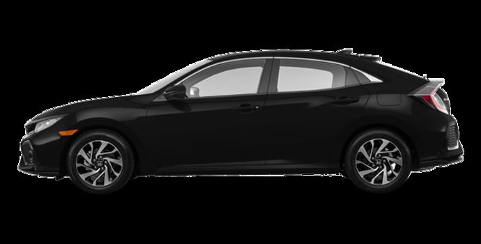 2017 Honda Civic hatchback LX HONDA SENSING | Photo 4 | Crystal Black Pearl