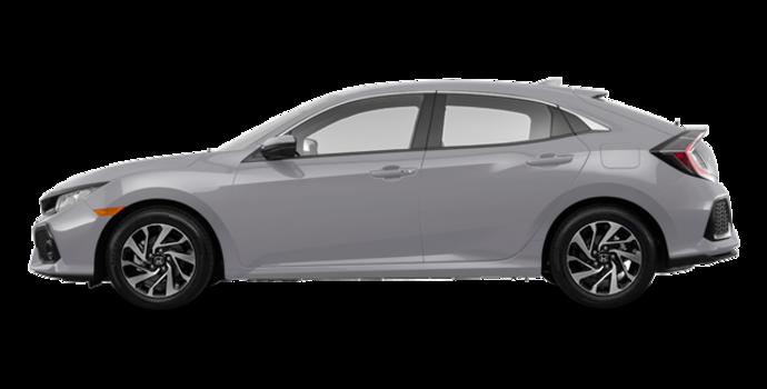 2017 Honda Civic hatchback LX   Photo 4   Lunar Silver Metallic