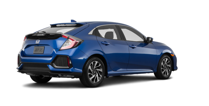 2017 Honda Civic hatchback LX   Photo 5   Aegean Blue Metallic