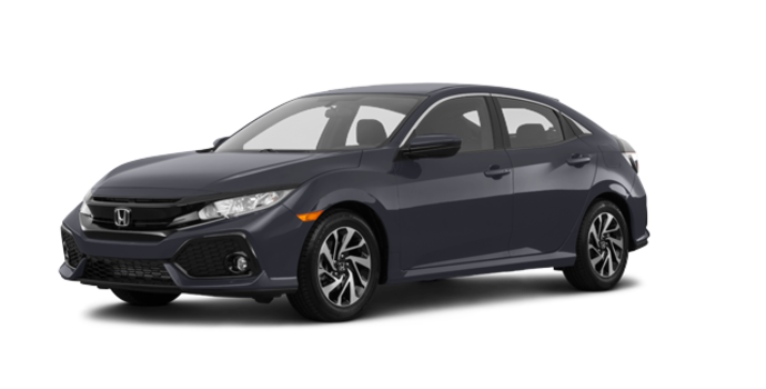 2017 Honda Civic hatchback LX   Photo 6   Polished Metal Metallic