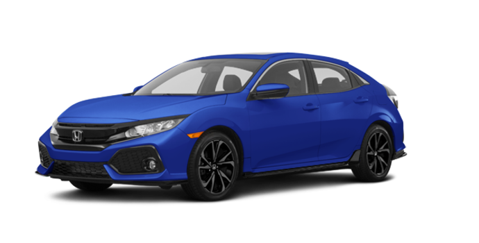 2017 Honda Civic hatchback SPORT   Photo 6   Aegean Blue Metallic