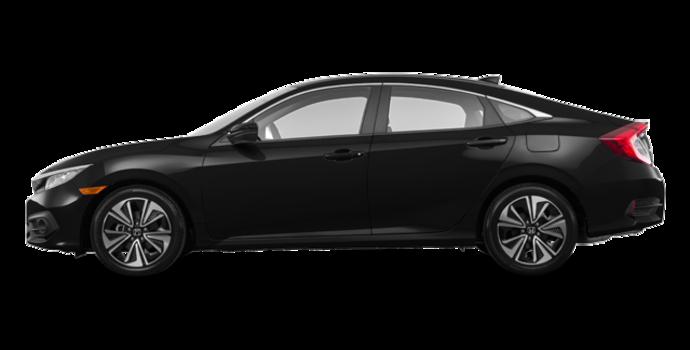 2017 Honda Civic Sedan EX-T | Photo 4 | Crystal Black Pearl