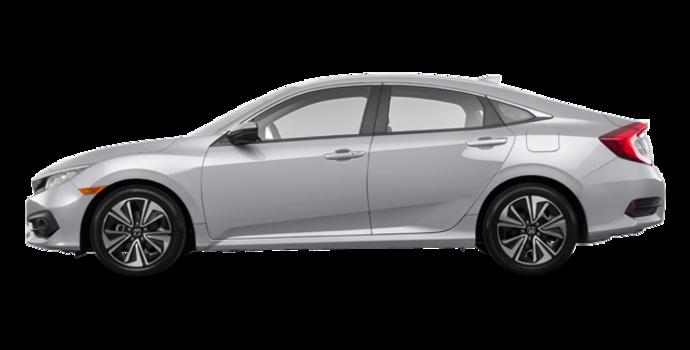 2017 Honda Civic Sedan EX-T | Photo 4 | Lunar Silver Metallic