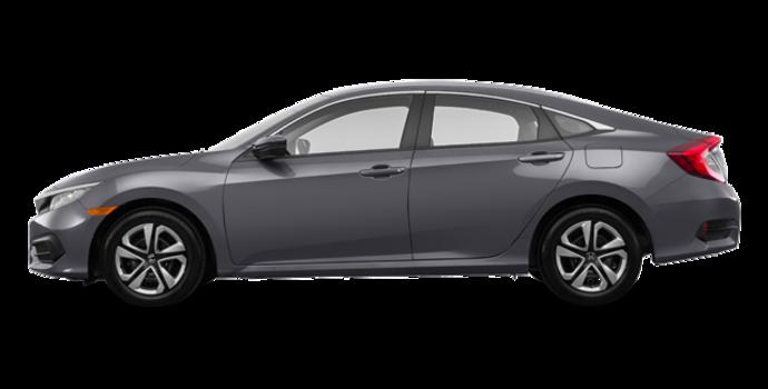 2017 Honda Civic Sedan LX-HONDA SENSING | Photo 4 | Modern Steel Metallic