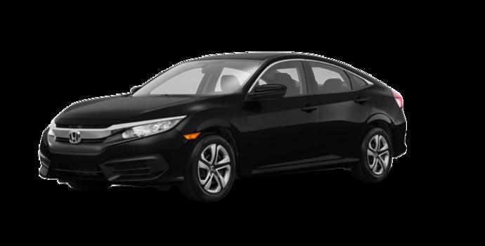 2017 Honda Civic Sedan LX-HONDA SENSING | Photo 6 | Crystal Black Pearl