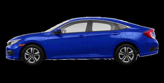 2017 Honda Civic Sedan LX | Photo 4 | Aegean Blue Metallic