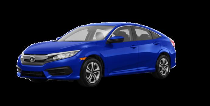 2017 Honda Civic Sedan LX | Photo 6 | Aegean Blue Metallic