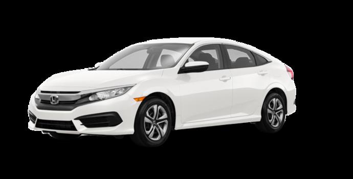 2017 Honda Civic Sedan LX | Photo 6 | Taffeta White