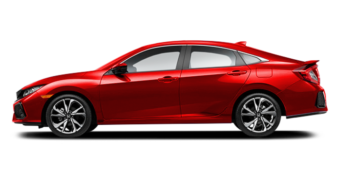 2017 Honda Civic Sedan SI | Photo 4 | Rallye Red