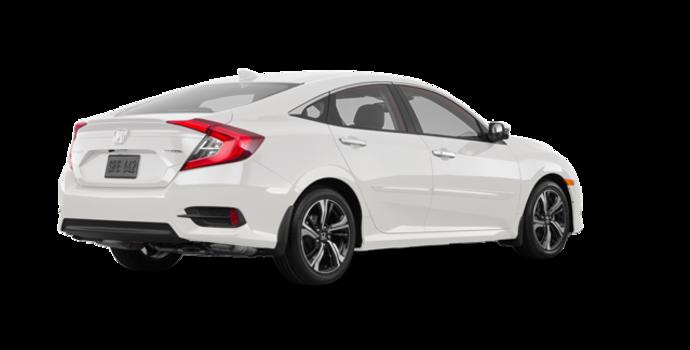 2017 Honda Civic Sedan TOURING | Photo 5 | White Orchid Pearl