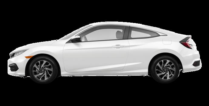 2017 Honda Civic Coupe LX-HONDA SENSING | Photo 4 | Taffeta White
