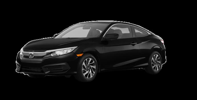 2017 Honda Civic Coupe LX-HONDA SENSING | Photo 6 | Crystal Black Pearl