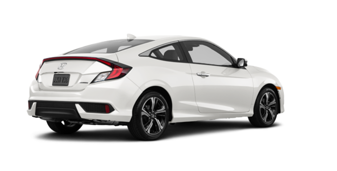 2017 Honda Civic Coupe TOURING | Photo 5 | White Orchid Pearl