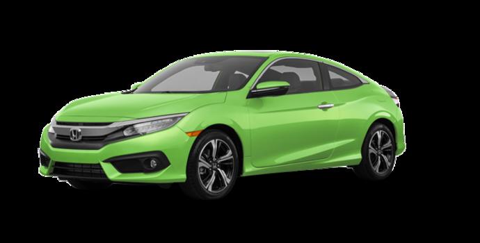 2017 Honda Civic Coupe TOURING | Photo 6 | Energy Green Pearl