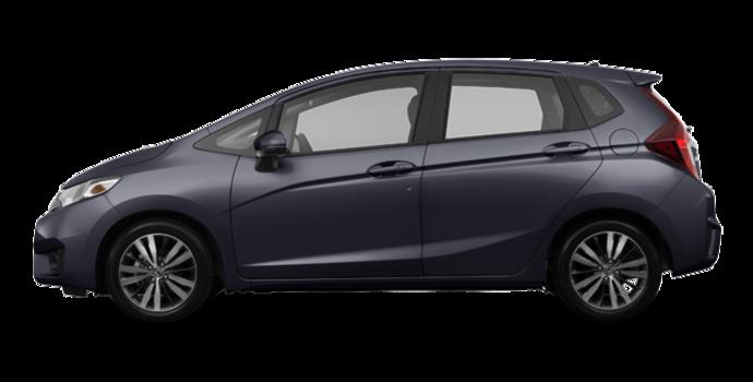 2017 Honda Fit EX-L NAVI   Photo 4   Modern Steel Metallic