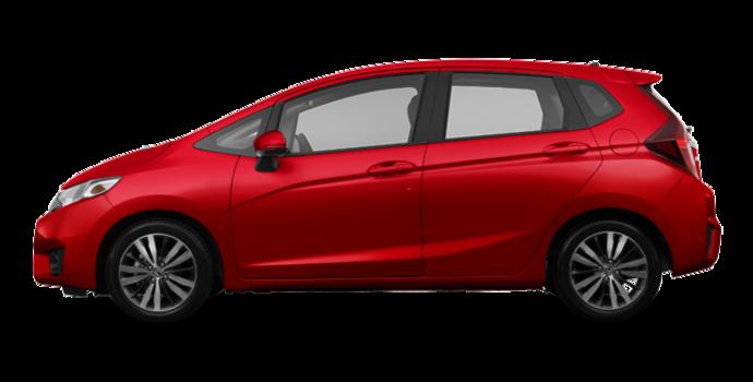 2017 Honda Fit EX-L NAVI   Photo 4   Milano red