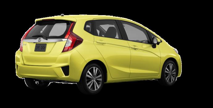 2017 Honda Fit EX-L NAVI   Photo 5   Mystic Yellow Pearl