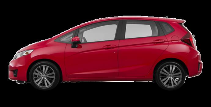 2017 Honda Fit SE | Photo 4 | Milano red