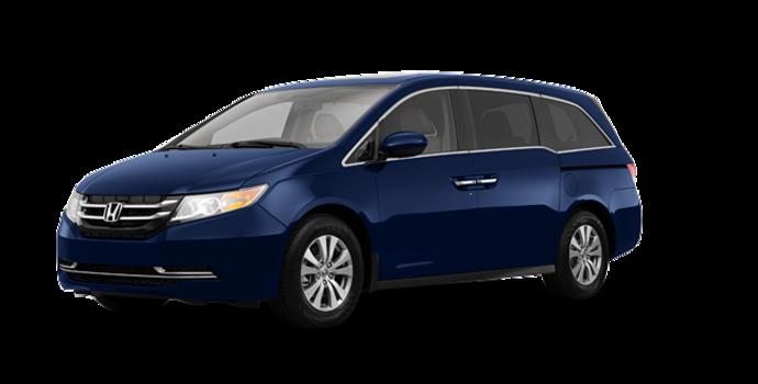2017 Honda Odyssey EX-L NAVI | Photo 6 | Obsidian Blue Pearl