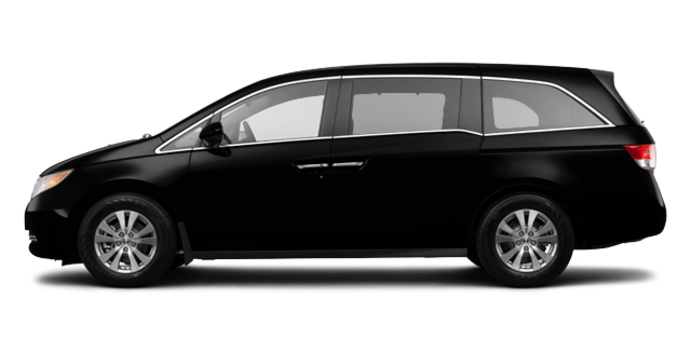 2017 Honda Odyssey EX | Photo 4 | Crystal Black Pearl