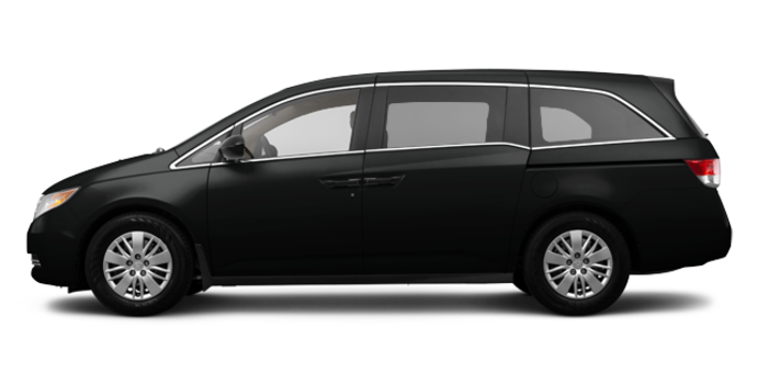 2017 Honda Odyssey LX | Photo 4 | Crystal Black Pearl