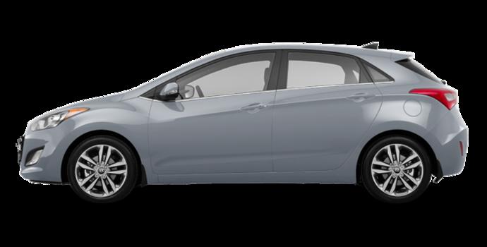 2017 Hyundai Elantra GT LIMITED   Photo 4   Platinum Silver