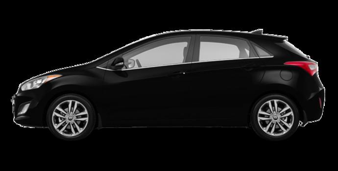 2017 Hyundai Elantra GT LIMITED   Photo 4   Space Black