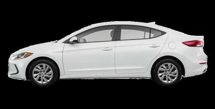 2017 Hyundai Elantra LE | Photo 4 | Ice White