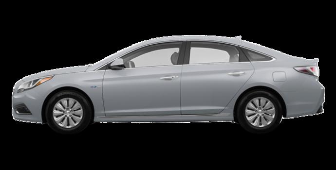2017 Hyundai Sonata Hybrid BASE | Photo 4 | Silver