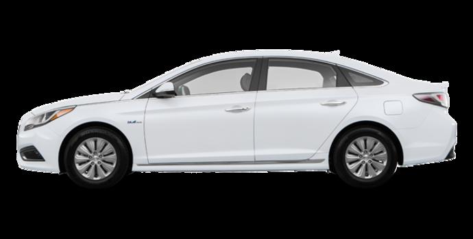 2017 Hyundai Sonata Hybrid BASE | Photo 4 | White