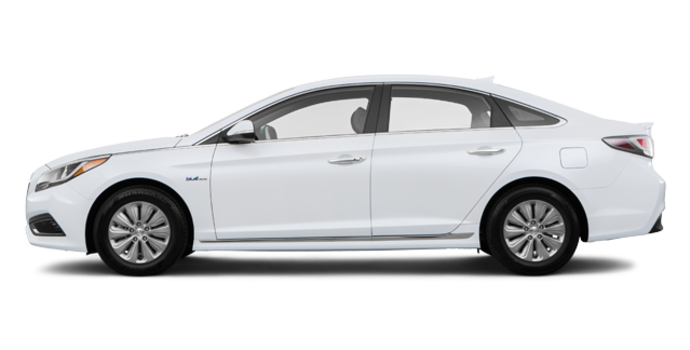 2017 Hyundai Sonata Hybrid | Photo 4 | White