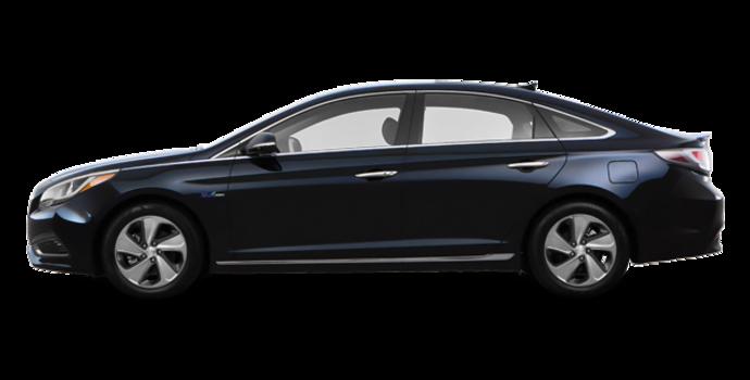 2017 Hyundai Sonata Hybrid LIMITED | Photo 4 | Blue