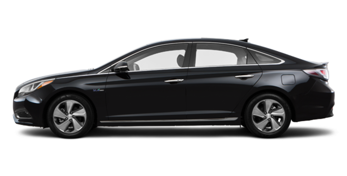 2017 Hyundai Sonata Hybrid LIMITED | Photo 4 | Black